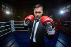 You might be feeling pummelled by the job market, but it's important to keep on punching.