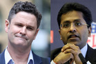 Indian billionaire Lalit Modi has called off his multimillion-dollar civil claim against Chris Cairns. Photo / Chris Gorman,AP