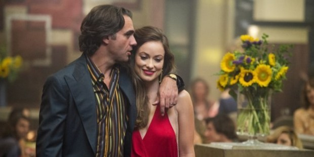 Bobby Cannavale and Olivia Wilde in a scene from Vinyl, HBO's new show coming to screens in February.