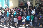The queues outside the Auckland City Mission are very real.  Photo / Jason Oxenham