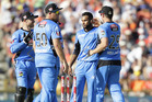 The Adelaide Strikers booked a home semifinal with a win over the Hobart Hurricanes. Photo / AP