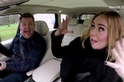 "Adele's ""Monster"" rap with James Corden."
