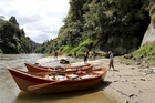 Tourists can now be rowed down the Whanganui River by guides.