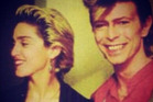 Madonna posted this picture of herself and David Bowie on Twitter after learning of his death. Photo / Twitter / Madonna