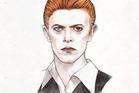 David Bowie by British artist Helen Green.