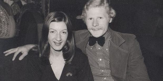 Gary Hogg, who worked for a recording label at the time David Bowie's NZ visit, and his wife Linda. Photo / Facebook