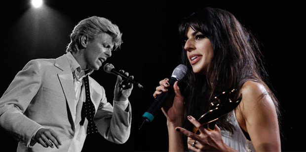 Brooke Fraser said she had the honour of supporting Bowie on his Reality tour in New Zealand in 2004. Photo / AP, NZHerald
