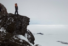 Professor Gary Wilson is used to the vagaries of Antarctic weather. Photo / Alan Gibson