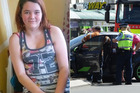 Courtney Cunningham said she wasn't able to move fast enough to get out the car's way. Photos / Supplied / Daniel Birchfield
