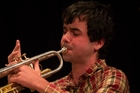 Patrick Webb has been playing the cornet for 10 years.