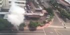Bomb blasts and gunfire rock central Jakarta