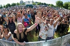 Almost 5000 people packed the Village Green to get their reggae fix on Saturday. Photo / Stephen Parker