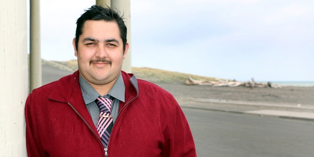 Youth worker Matthew Urry intends to stand for election to Wanganui District Council this year. Photo / Natalie Sixtus