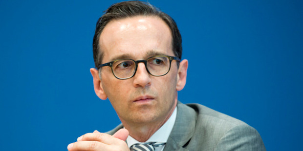 Germany's Justice Minister Heiko Maas. Photo / Getty Images