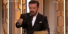 Golden Globes: Ricky Gervais on Donald Trump