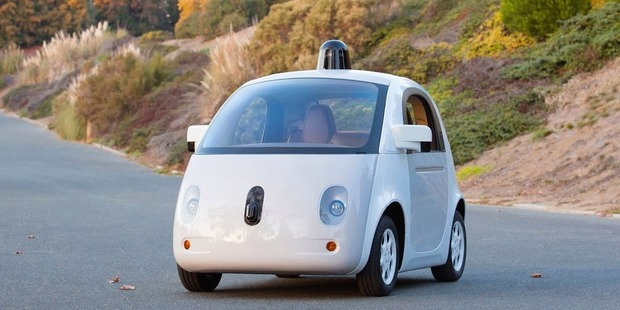 Google's self-driving car prototype. Photo / Supplied