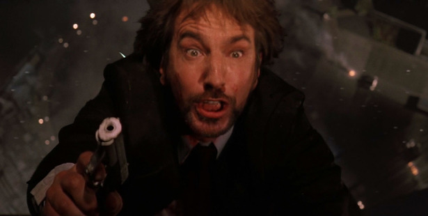 Rickman shot to fame in the late 1980s as Hans Gruber, the villain in the first Die Hard. Photo / 20th Century Fox