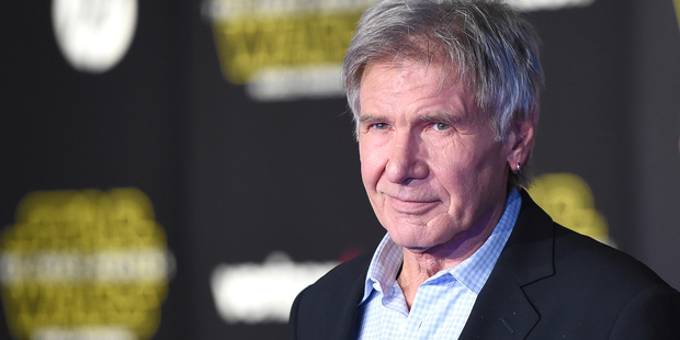 Harrison Ford is the highest grossing actor in Hollywood. Photo / Getty
