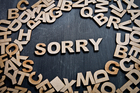 Simon Horobin: Why do we say 'sorry' so much?