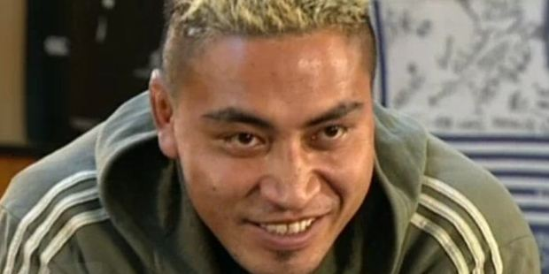 A still from a Sky Sports profile of Jerry Collins, filmed prior to the 2007 Rugby World Cup. Photo / NZ on Screen