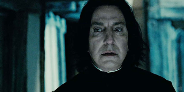 Alan Rickman will be forever linked to the role of Severus Snape in the Harry Potter films. Photo / Warner Bros