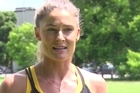Residents and local exercise lovers are still reeling a week on from the killing of jogger Joanne Pert in a Remuera street. Video source: Daniel Hines
