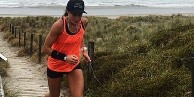 Nike NZ's Running Coordinator Lydia O'Donnell organised the run in memory of Jo Pert. Photo / Instagram
