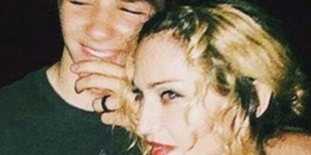 Madonna with her son Rocco. Photo / Instagram