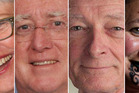 Mayoral candidates (from left) Steve Chadwick, Dr Reynold Macpherson, Rob Kent, RangiMarie Bosma.