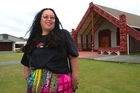 Missy Te Kahu at Takapuwahia Marae in Porirua where she witnessed the visit by David Bowie in 1983.  12 January 2016.  New Zealand Herald Photograph by Mark Mitchell