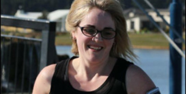 Christchurch mother Lorraine Walker who has lost 20kgs over the past two years and will be racing in a duathlon for the first time.