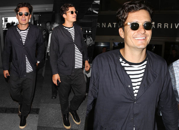Orlando Bloom is seen at LAX in September. Photo / Getty Images