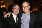 Spotlight star Mark Ruffalo and director Tom McCarthy attend an Excellence In Cinema Pre-Golden Globe Celebration, as the film is tipped to win Best Motion Picture - Drama. Photo /Getty