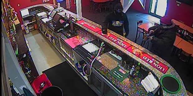 The three people entered the Happy Days restaurant around 9.20am November 16, 2015. Photo / Supplied via police