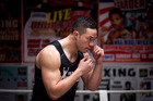 Joseph Parker has suffered a few blows in the build-up to his fight in Samoa. Photo / Dean Purcell