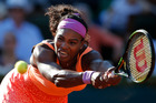 Serena Williams withdrew from the Hopman Cup due to a knee injury. Photo / AP