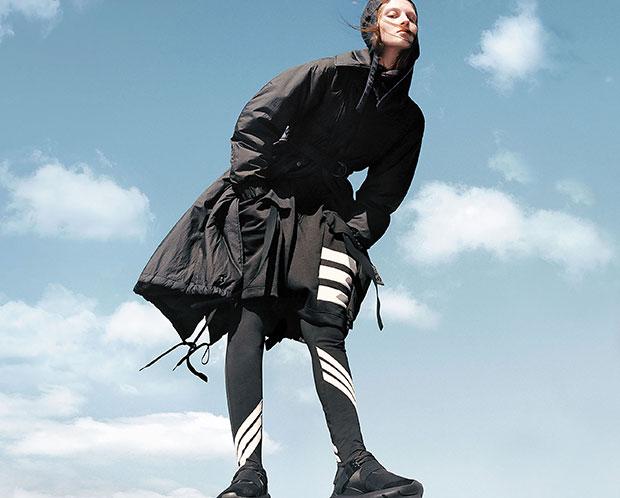 Adidas Y-3 autumn 2016 campaign by Harley Weir.