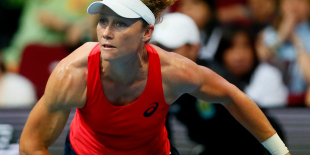 Stosur's right arm has been the talk of social media. Photo / AP