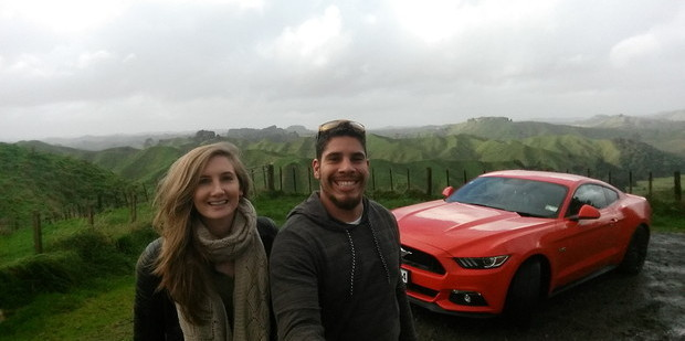 Road-tripping in the new Mustang along the Forgotten Highway between Stratford and Taumaranui. Photo / Alanah Eriksen