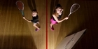Rotorua sisters competing in 2016 North Island Age Group squash championships