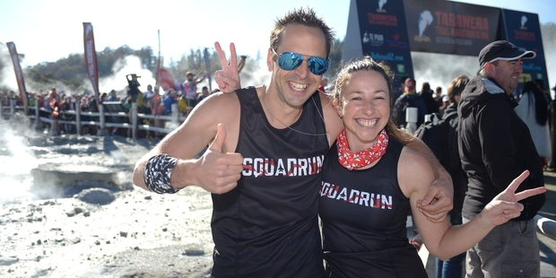 Ultramarathon veteran Kerry Suter and his partner Ali Pottinger are moving their training business Squadrun to Rotorua. Photo / Allen Ure, Photos4Sale