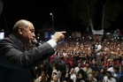 Recep Tayyip Erdogan has steadily eroded  democracy in Turkey since  rising to power 16 years ago. Picture / AP