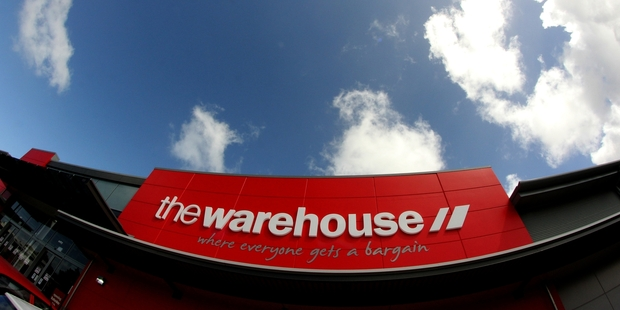 Shares in the Warehouse Group dipped 1.1 per cent yesterday to close at $2.78.