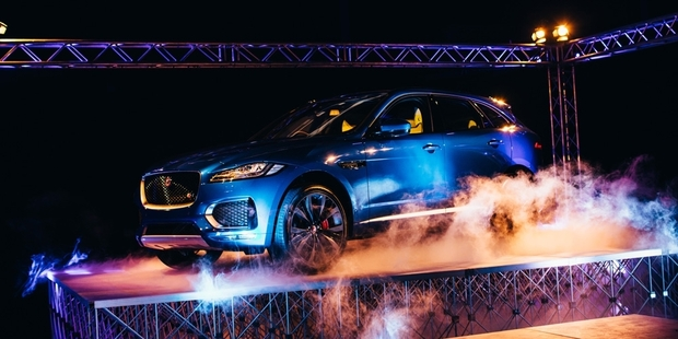 Jaguar's new F-Pace range was launched at Motat, with prices starting at $95,000.