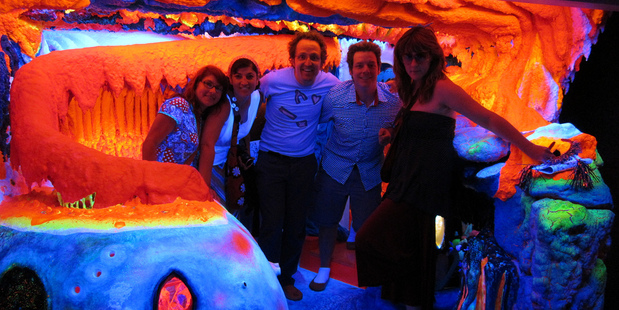 Visitors can become part of the artworks at Electric Ladyland. Photo / Flickr, Jonathan Harford