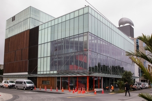 Waterfront theatre nears completion