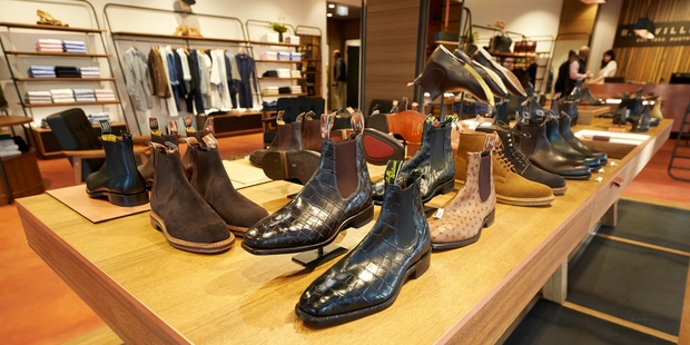 Significant footwear sales were an unexpected bonus for RM Williams, says chief executive Raju Vuppalapati.