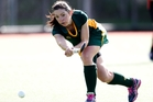 Maungakaramea's Debbie Monaghan in action against Springfield. Photo / Michael Cunningham
