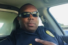 Baton Rouge Police Officer Montrell Jackson, one of the three Baton Rouge law enforcement officers who were killed today. Photo / AP