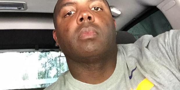 Baton Rouge Police Officer Montrell Jackson. Photo / AP